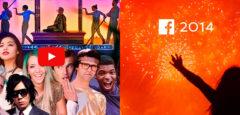 Jahresrückblick 2014 von YouTube und Facebook