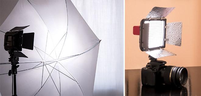 LED Videoleuchte - Der Tuber