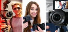 Vlog Kameras – die besten Kameras für YouTuber