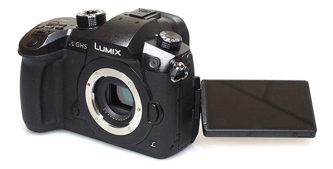 Die besten Vlog Kameras - Panasonic Lumix GH5 - Der Tuber