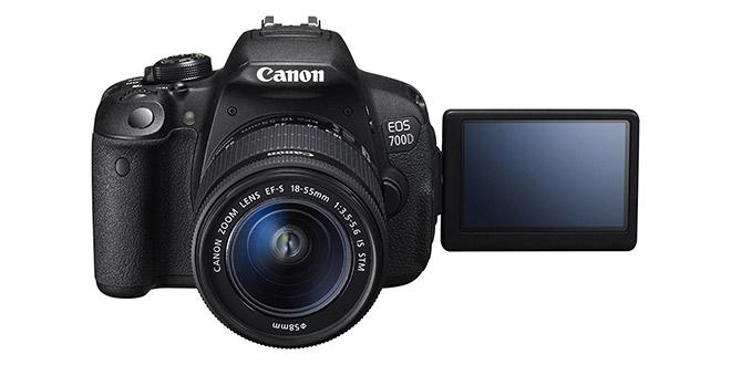 Canon 700D - Facecam Kameras - Der Tuber