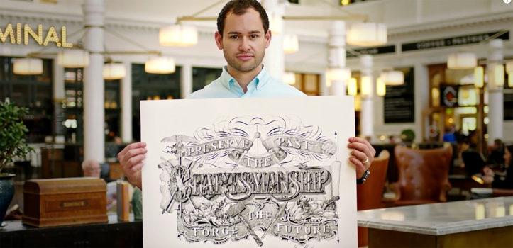 Jake Weidmann - Master Penman - Netztempel